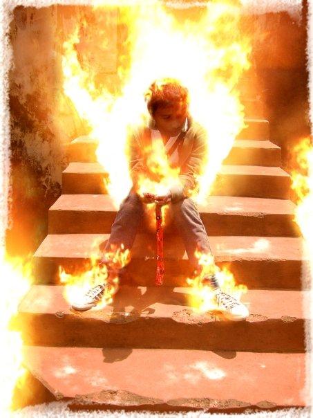 Efet Terbakar